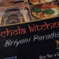 Photo taken at Chola Kitchen by Sharmaathy R. on 8/14/2014