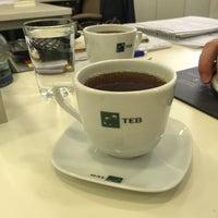 Photo taken at TEB by Derya Topal G. on 4/27/2016