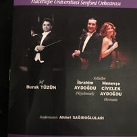 Photo taken at Hacettepe Üniversitesi Kültür Merkezi M Salonu by Çağdaş Emlak Y. on 12/8/2017