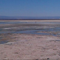 Photo taken at Salar de Atacama by Michele E. on 8/23/2013