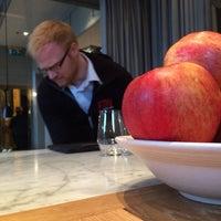 Photo taken at Mathias Dahlgrens Matsalen by Björn F. on 11/4/2014