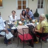 Photo taken at Platina Restaurant & Garden by Tomáš F. on 8/12/2014