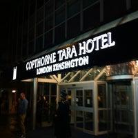 Photo taken at The Copthorne Tara Hotel by Kimihiko K. on 10/19/2012