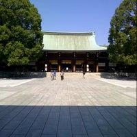 Photo prise au Meiji Jingu Shrine par Kwanlah S. le10/16/2012