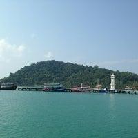 Photo taken at Bang Bao Lighthouse by Juliya on 4/9/2013