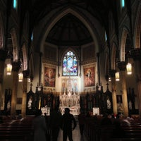 Photo taken at St. Patrick's Basilica by Kevin M. on 5/24/2013