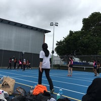 Photo taken at Epsom Girls Grammar School by Nur Aishah A. on 10/6/2017