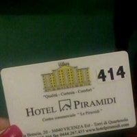 Photo taken at Hotel Le Piramidi by Saska M. on 2/15/2015