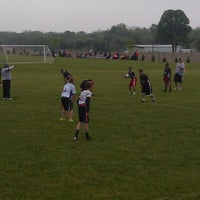 Photo taken at Red Zone Flag Football by East Youth f. on 5/19/2013