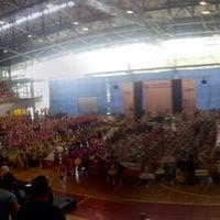 Photo taken at Sportska dvorana Žatika by Antonella K. on 8/28/2014