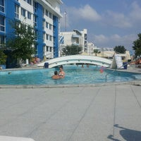 Photo taken at Piscină by Crina A. on 7/31/2013