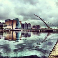 Photo taken at The River Liffey by Christian H. on 8/25/2013