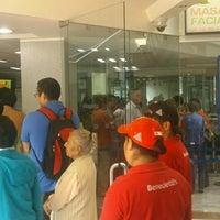 Photo taken at Bancomer by José L. on 4/15/2013