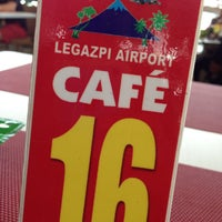 Photo taken at Legazpi Airport Café by Dan Ronald S. on 4/4/2015