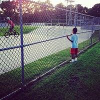 Photo taken at Woodstock Skatepark by Algernon P. on 7/26/2013
