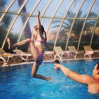 Photo taken at VIP Pool   Starlight Resort by Dimok G. on 11/8/2013
