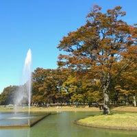 Photo taken at Yoyogi Park by marlo on 11/4/2012