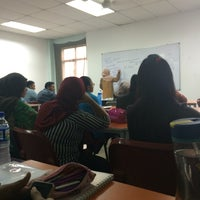 Photo taken at Faculty Of Business (FOB) Unisel Shah Alam by cha s. on 9/14/2016
