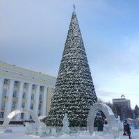 Снимок сделан в Площадь Ленина пользователем Нияз А. 1/14/2013