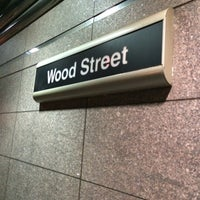 Photo taken at Port Authority Wood Street Station by Anthony Y. on 8/6/2014