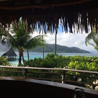 Photo taken at Le Taha'a Private Island And Resort Spa by Tereza D. on 9/2/2016