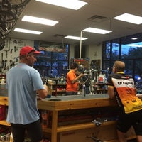 Photo taken at Crazy Cat Cyclery   Redd Rock by Marty B. on 8/13/2014
