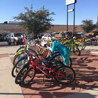 Photo taken at Crazy Cat Cyclery   Redd Rock by Marty B. on 12/7/2014