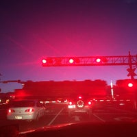 Photo taken at Train Crossing by Marty B. on 10/14/2016