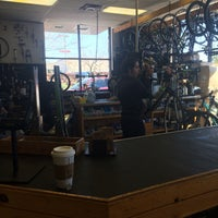 Photo taken at Crazy Cat Cyclery   Redd Rock by Marty B. on 1/22/2017