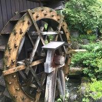 Photo taken at 牧水の滝 by KO U. on 5/28/2017