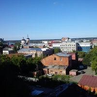 Снимок сделан в Октябрьский взвоз пользователем Alexander K. 8/21/2014