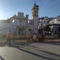 Photo taken at Plaza de la Constitución by JOANET on 10/14/2012