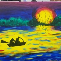 Photo taken at Painting Lounge by Paul P. on 10/5/2016