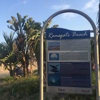 Photo taken at Ramsgate Beach by Afzal M. on 4/27/2017