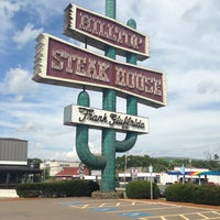 Photo taken at Hilltop Steakhouse by Whitney K. on 8/3/2013