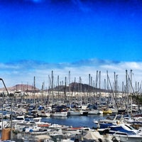 Photo taken at Muelle Deportivo by José María R. on 2/17/2015