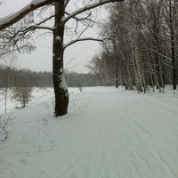 Photo taken at Ноксинский лес by Bulat K. on 1/6/2013