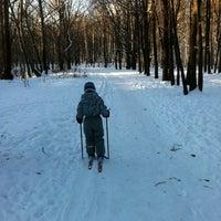 Photo taken at Ноксинский лес by Bulat K. on 12/16/2012