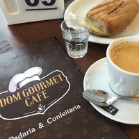 Photo taken at Dom Gourmet Café by Cunha J. on 1/3/2015