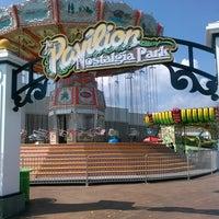 Photo taken at Pavilion Nostalgia Park by Sam H. on 9/12/2013