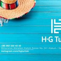 11/4/2016 tarihinde H-G Turizm Seyahat Acentasıziyaretçi tarafından H-G Turizm Seyahat Acentası'de çekilen fotoğraf