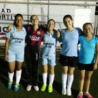 Photo taken at Unidad Deportiva Bicentenario (CREA) by ALFONSO on 10/3/2015
