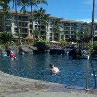 Photo taken at Westin KOR Villas - North Pool by Jen M. on 10/26/2012