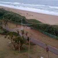 Photo taken at Amanzimtoti Main Beach by Jean M. on 7/4/2014
