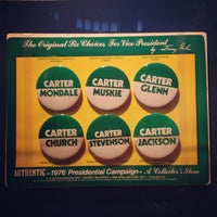 Photo taken at Jimmy Carter Presidential Library & Museum by Jordan R. on 10/27/2012