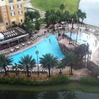 Photo taken at Lake Buena Vista Resort Village & Spa by Becky S. on 6/15/2013