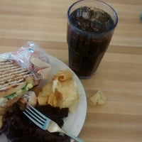 Photo taken at SFUAD Campus View Cafeteria by Sofia F. on 3/9/2015