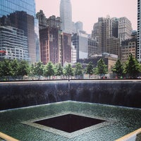 Photo taken at National September 11 Memorial & Museum by Brody J. on 6/25/2013