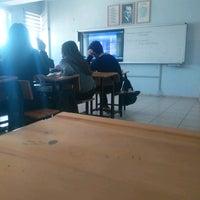 Photo taken at Necip Fazıl Kısakürek Anadolu Lisesi by Gamze D. on 3/22/2017