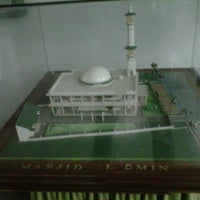 Photo taken at Mesjid Al-Amin by Choco D. on 11/11/2012
